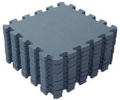 BabyDan Hrací podložka puzzle Dusty Blue 90x90 cm
