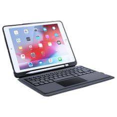 Dux Ducis Wireless Keyboard pouzdro s klávesnicí na iPad Pro 10.5'' 2017 / iPad Air 2019, čierne