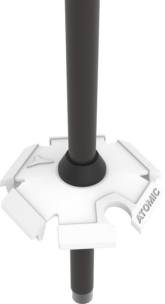 Atomic lyžařské hole Amt Sqs Black/White 115 cm