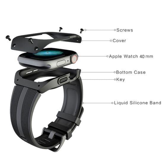 MAX Náhradní řemínek pro Apple watch MAS13 38/40mm