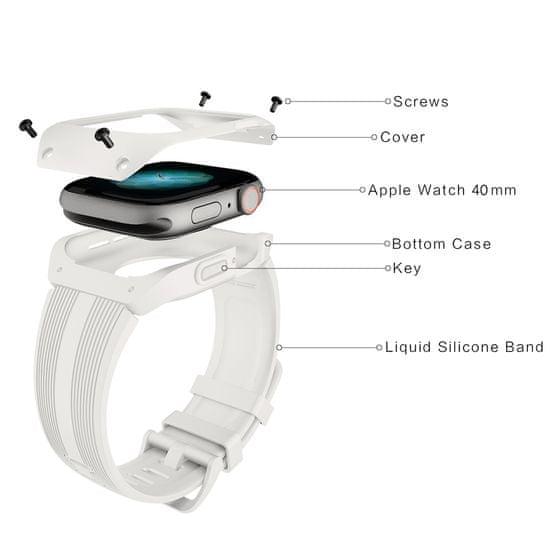 MAX Náhradní řemínek pro Apple watch MAS14 38/40mm