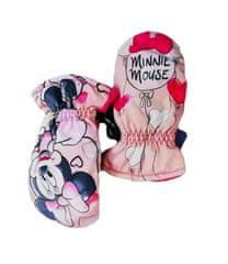 "SETINO Dekliške rokavice ""Minnie Mouse"" - roza - 5–6 let"