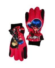 "SETINO Dekliške smučarske rokavice ""Miraculous"" - rdeča - 11–12 let"