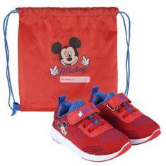 Disney 2300004614 Mickey Mouse otroške superge, rdeče, 25