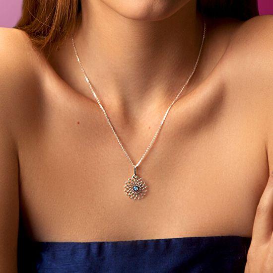 Praqia Csodálatos ezüst nyaklánc Filia KO6004_BR030_45_A ezüst 925/1000