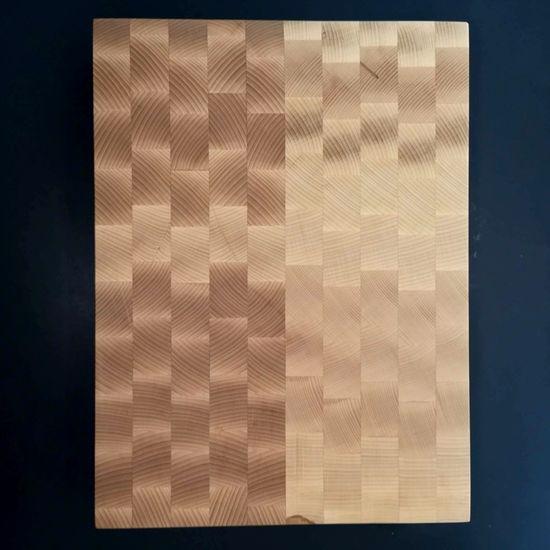 AMADEA Dřevěné řeznické prkénko skládané, masivní dřevo, 29,5x39,5x5 cm