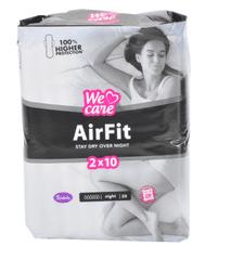 Violeta We Care Air Fit higienski vložki, night, 20 kosov