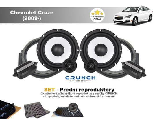 Crunch SET - přední reproduktory do Chevrolet Cruze (2009-) - Crunch