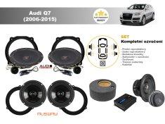 Audio-system Kompletní ozvučení Audi Q7 (2006-2015) - skvělý zvuk