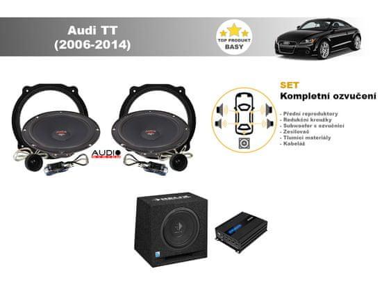 Audio-system Kompletní ozvučení Audi TT (2006-2014) - skvělý zvuk