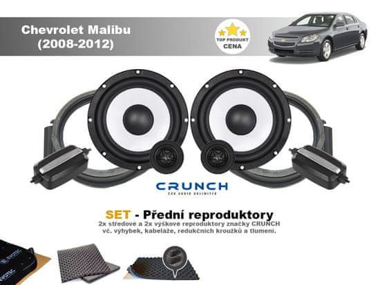 Crunch SET - přední reproduktory do Chevrolet Malibu (2008-2012) - Crunch