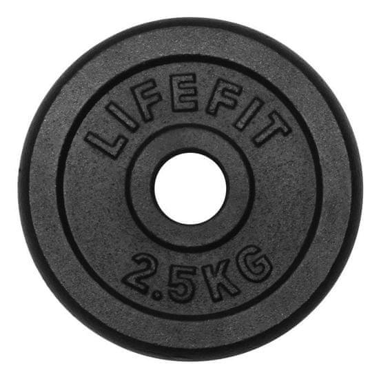 Rulyt LifeFit utež, črna, 2,5 kg