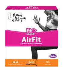 Violeta We Care Air Fit dnevni vložki, long, 50 kosov