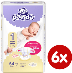 Panda New born - á 54 ks x 6 (324ks)