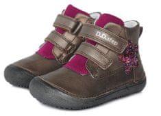 D-D-step dekliška obutev 063-879C, 34, bron