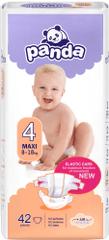 Panda Plienky Baby Maxi 4 8-18 kg 42 ks