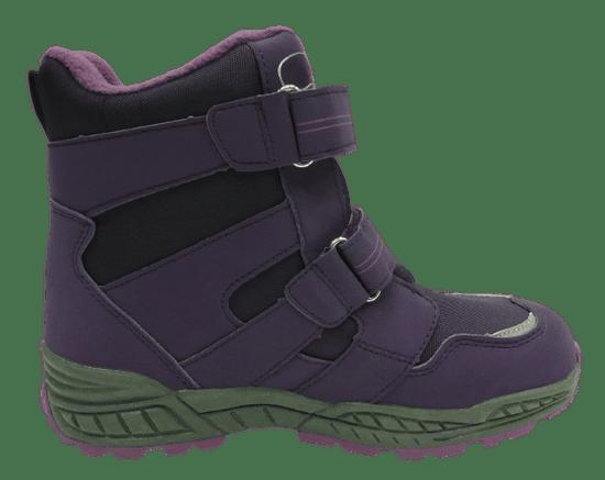 V+J detská členková obuv 25900 lila