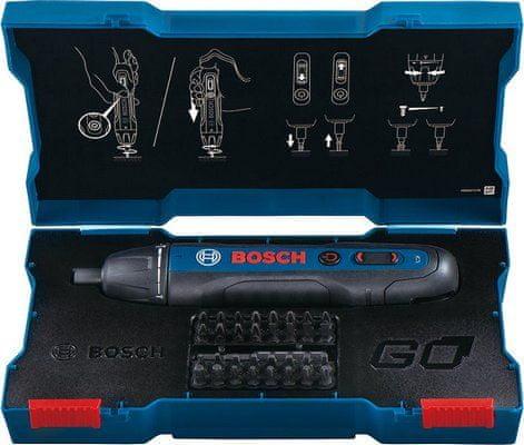 BOSCH Professional GO akumulatorski ročni vijačnik (06019H2101) - Odprta embalaža