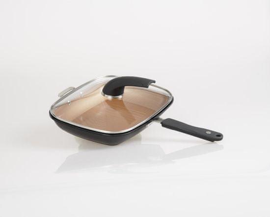 Mediashop Átfordítható serpenyő Livington Black Doubletta Deluxe