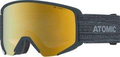 Atomic gogle narciarskie Savor Big Stereo, szare, żółte soczewki