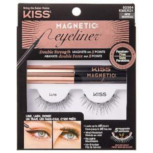 KISS Magnetické umělé řasy s očními linkami (Magnetic Eyeliner & Lash Kit)