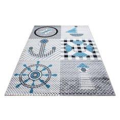 Jutex Detský koberec Kids 510 sivý 2.30 x 1.60