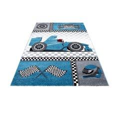 Jutex Detský koberec Kids 460 modrý 1.70 x 1.20