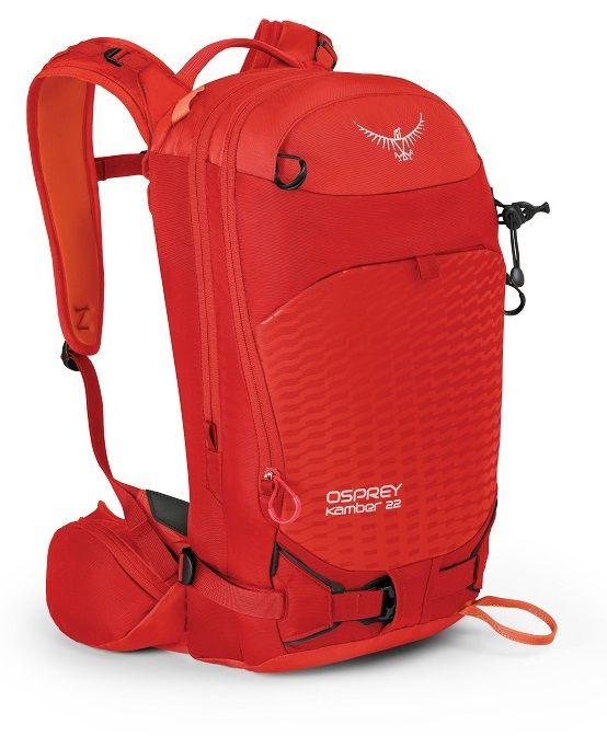 Osprey Kamber batoh, červená, 22 l, M/L