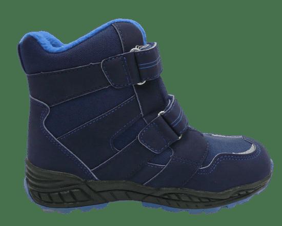V+J detská členková obuv 25900 Blau