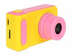Alum online Dětský mini fotoaparát s kamerou Žluto- růžový