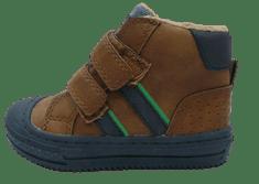 V+J chlapčenská členková obuv 506338/Nat 20 hnedá