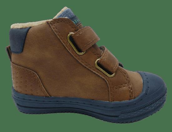 V+J chlapčenská zimná obuv 506338/Nat