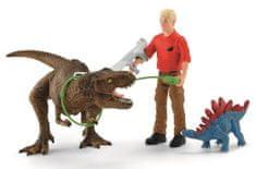 Schleich Útok Tyranosaura Rexe 41465