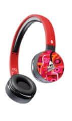CellularLine MusicSound brezžične slušalke, rdeče