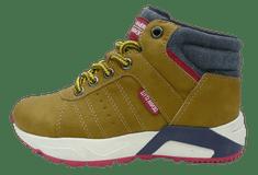 V+J chlapčenská členková obuv 511162/Cam 30 hnedá