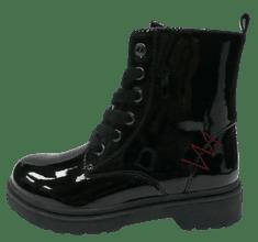 V+J dievčenská členková obuv 511381/Blk 28 čierna