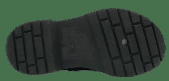 V+J dievčenská členková obuv 511381/Blk