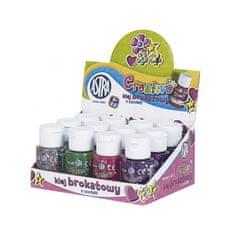 Astra Creative GLITROVÉ lepidlo s konfetami 40ml, mix barev, 332114002