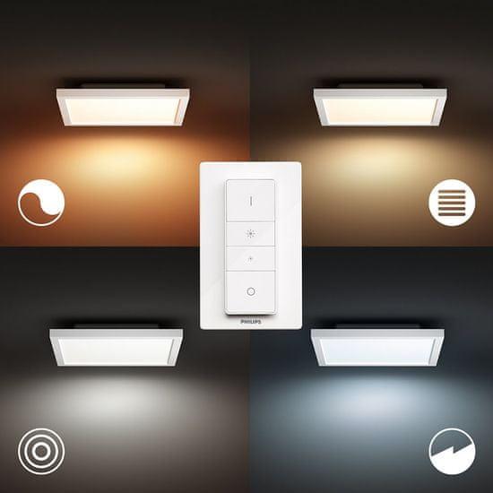 Philips Hue Aurelle SVÍTIDLO STROPNÍ LED 24,5W 2200lm 2200-6500K, bílá 30x30cm BT