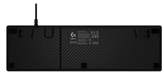Logitech G413 gaming mehanska tipkovnica, srebrna