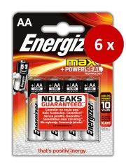 Energizer Max alkalna bateterija AA (LR6), 24 kos