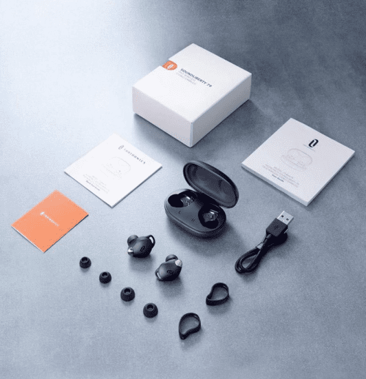 TaoTronics SoundLiberty 79 TWS slušalke, črne