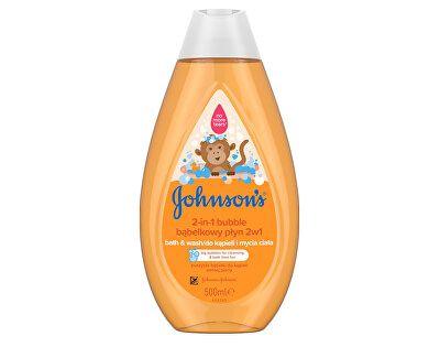 Johnson's Baby peneča kopel in gel za tuširanje 2v1, 500 ml