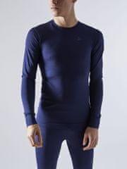 Craft Fusdeknit Comfort RN LS majica z dolgimi rokavi, temno modra, S