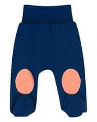 Nini ABN-2134 hlače za dječake od organskog pamuka, tamno plava, 56