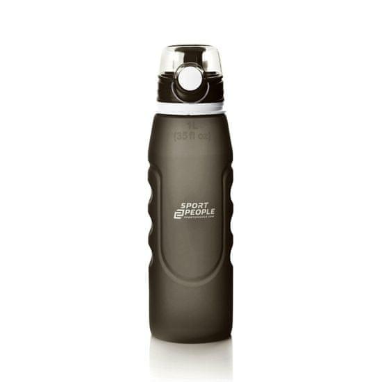 Sport2People steklenica za vodo, zložljiva, 1 l