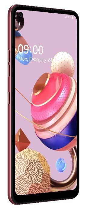 LG K51s pametni telefon, 3GB/64GB, roza (LMK510EMW), Quad-Cell