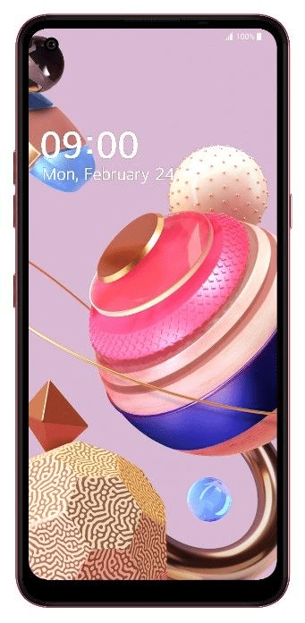 LG K51s pametni telefon, 3GB/64GB, roza (LMK510EMW), Quad-Cell, DTS-X