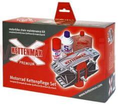 KETTENMAX PREMIUM - pračka na motocyklové řetězy (kompletní sada vč. čističe a konzervantu řetězů) KMP-KD-002-NEU