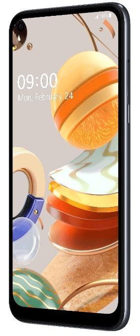 LG K61s pametni telefon, 4GB/128GB, titan (siva) (LMK630EMW), Quad-Cell